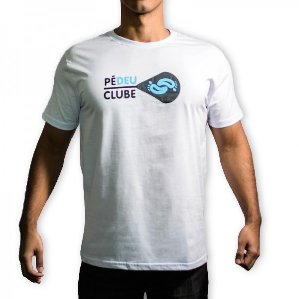 Pé Deu Clube Masculina Branca
